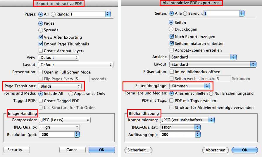 Interactive PDF in Adobe InDesign | i-adobe